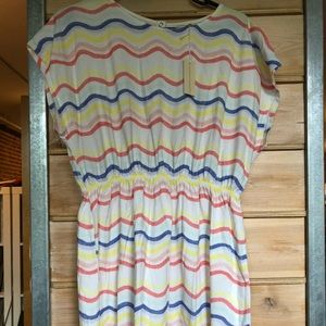 Hundred Pieces Waves Dress